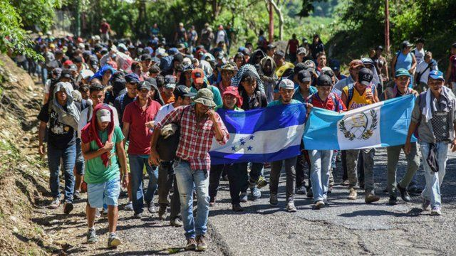Why the migrant caravan is not a border crisis