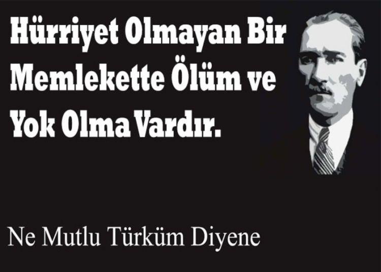 Atatürk bir hürriyet fedaisi, istiklal savaşçısıdır - FOTO GALERİ
