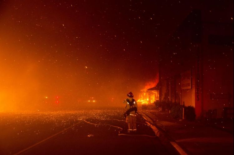 California wildfires - Death toll reached 42 - Renewed - VIDEO