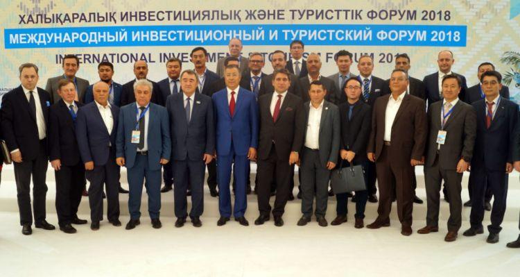 Agreements worth $1.7 billion signed at Turkestan business forumg