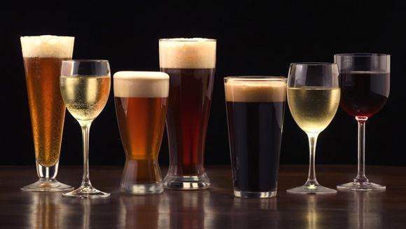 Which alcoholic beverages are more diet-friendly?