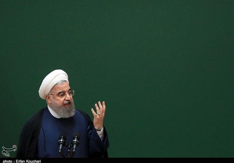 روحاني: أمريكا فشلت في تصفير صادرات النفط الإيراني وهي تحاول التأثير سلبا على حياة الشعب الإيراني عبر العقوبات