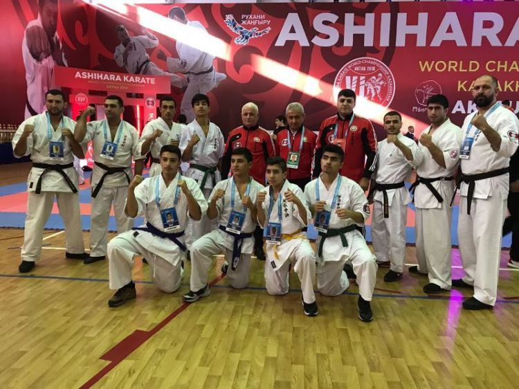 Azerbaijani karate players are in the world championship - PHOTOSg