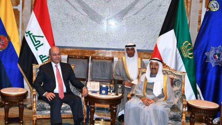 الرئيس العراقي: أعدنا مقتنيات سرقت من الديوان الأميري الكويتي خلال الغزو