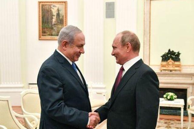 """نتنياهو يصف محادثاته مع بوتين في باريس بأنها """"مهمة للغاية"""""""