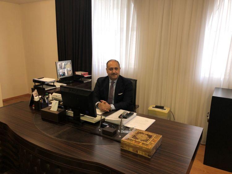 """"""" من الطبيعي أن يستعاد كل شبر من الأراضي الأردنية"""" - سفير الأردن في أذربيجان نصار إبراهيم الحباشنة - الصور الفوتوغرافية"""