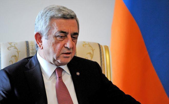 """Serj Sərkisyan - """"Daş üstə daş qoymayacağıq"""""""