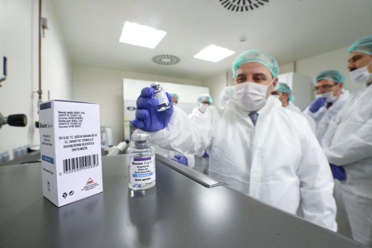 Türkiye'nin ilk yerli kanser ilacı üretildi
