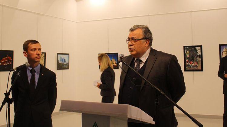 Büyükelçi Karlov'un adı Moskova'daki yerini aldı