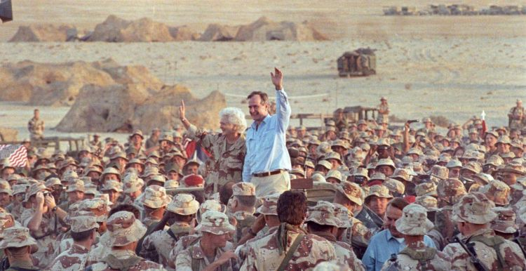 The 'Forceful, Yet Magnanimous' - Foreign Policy of George H. W. Bush