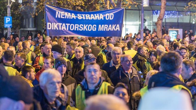 Yellow vest protests held in Montenegro