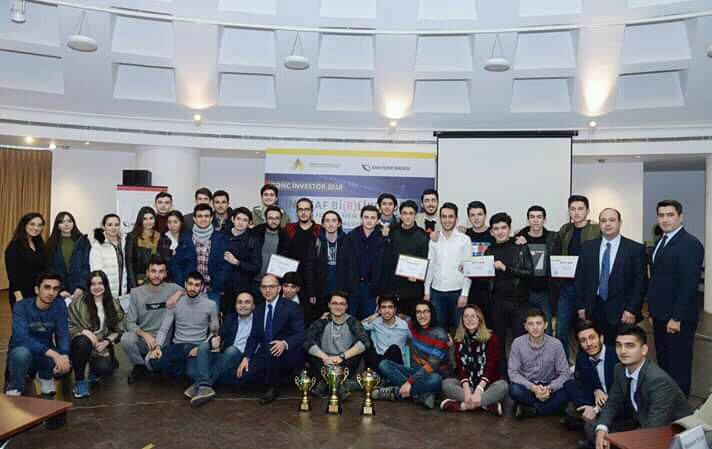 "The UNEC students won the first three places in the ""Young investor 2018"" simulation competition III - PHOTOS"