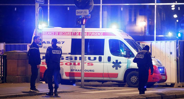 قتيلين و11 جريحا في إطلاق نار في فرنسا - عاجل - الفيديو