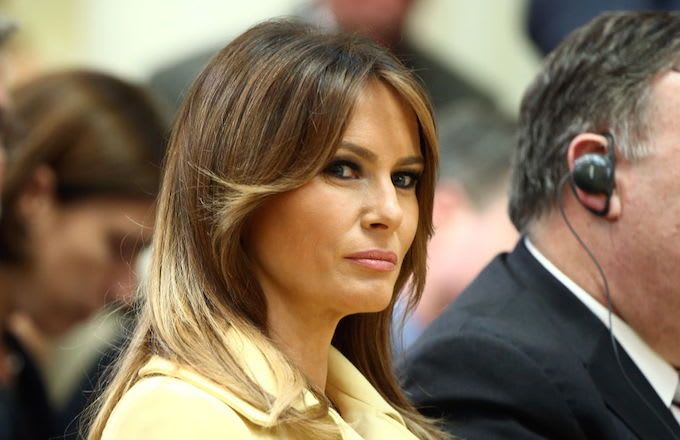 Melania Trump dismisses 'gossip' following Cohen sentencing - 'Focus on the substance'