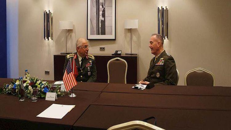 ABD Genelkurmay Başkanı Dunford'dan Orgeneral Güler'e Suriye telefonu