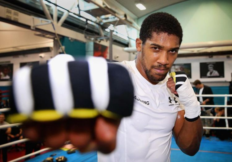 Anthony Joshua hits out at Deontay Wilder and Tyson Fury - 'He's more interested in fighting Tyson Fury. Tyson Fury holds no world titles'