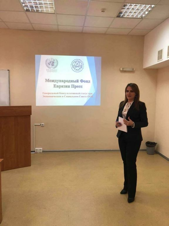 «Азербайджан активно поддерживает международные молодежные проекты» - Анастасия Лаврина - ФОТОg