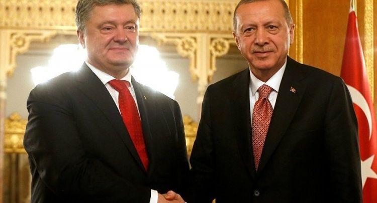 """""""Erdoğan'a minnettarım"""" - Ukrayna Cumhurbaşkanı Poroşenko"""