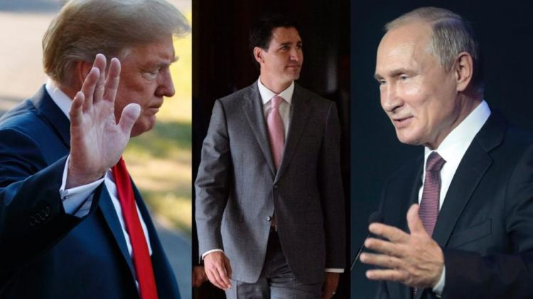 Canada's Trudeau reveals what he thinks about Putin and Trump - 'Problematic, Unpredictable'