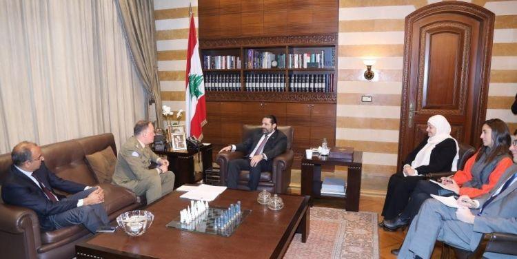"""الحريري يلتزم معالجة الجيش أي شائبة بتطبيق الـ1701 بعد دعوة يونيفيل """"حكومة لبنان لضمان إجراءات عاجلة"""""""