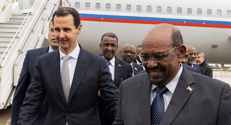 السودان يكشف رسميا هدف زيارة البشير لسوريا وسر الذهاب بطائرة روسية