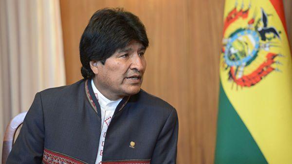 Президент Боливии обвинил США в попытках помешать выборам в стране
