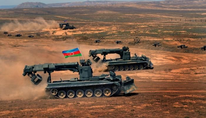 Colonel Ramaldanov - `Azerbaijan declares to the world that it intends no aggression against any state`
