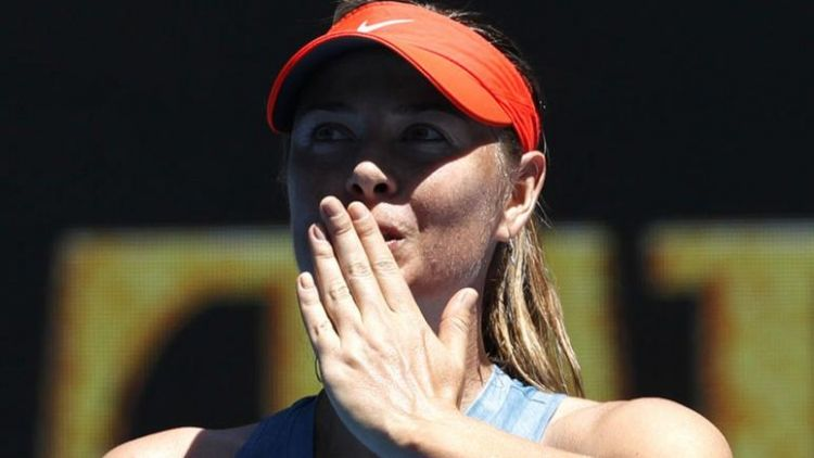 Sharapova pans male players for fighting women's equality