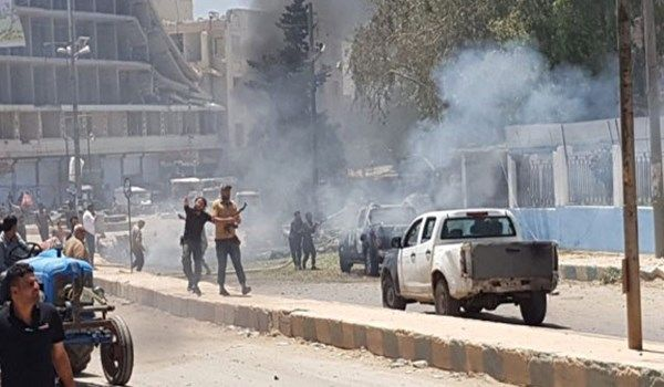 Suicide bomb attack reported in Manbij marketplace