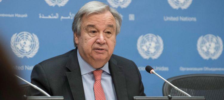 Генсек ООН приветствовал соглашение глав МИД Азербайджана и Армении о принятии мер по подготовке населения к миру