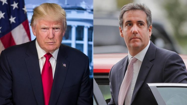 Trump told to 'resign or be impeached' - if reports he instructed attorney Cohen to lie to congress are proven