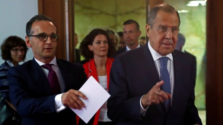 Russia's Lavrov, Germany's Maas talk gas pipeline Ukraine, arms