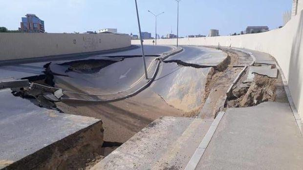 Причины оседания дорог в Баку
