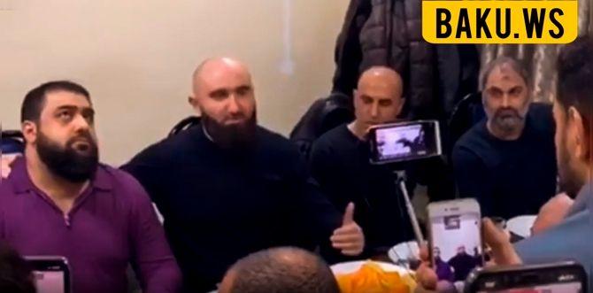 Çeçenlərlə azərbaycanlılar Moskvada görüşdülər - VİDEO