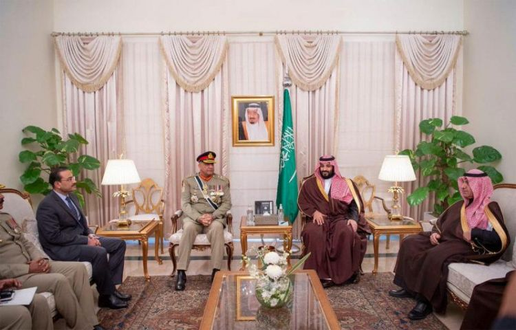 Saudi Crown Prince discusses defense cooperation with Pakistan Army Chief