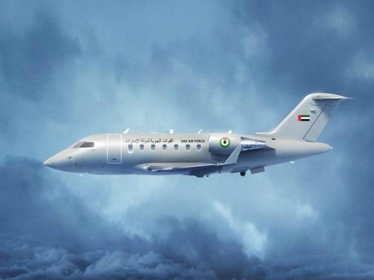 اتفاقية لتوريد نظام طائرة «تشالينجر 650» للقوات الجوية