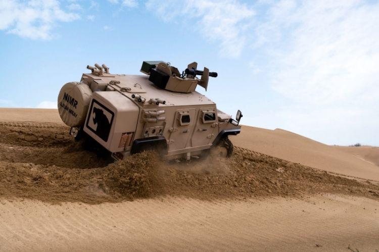 «عجبان 447A» آلية عسكرية بمواصفات تكتيكية