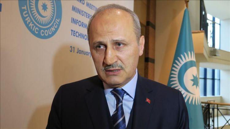 """سكّة قطار """"باكو- تبليسي- قارص"""" إسهام لخدمة رجال الأعمال - حوار صحفي"""