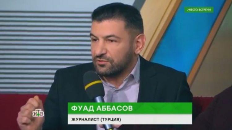 Московский журналист Фуад Аббасов допускает расправу  заказу армян - ВИДЕО