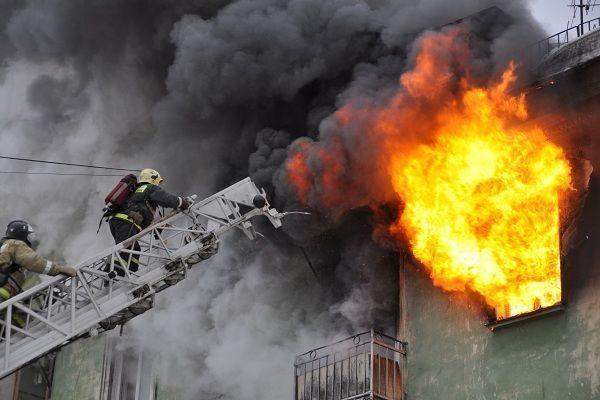 Пожар в Баку: есть погибшие