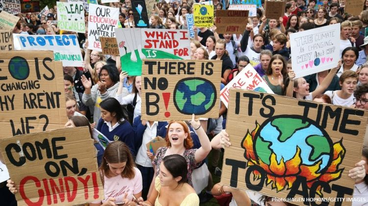 Students' climate strike