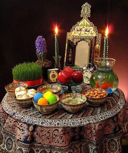 عيد النوروز،احتفالية الربيع في ايران