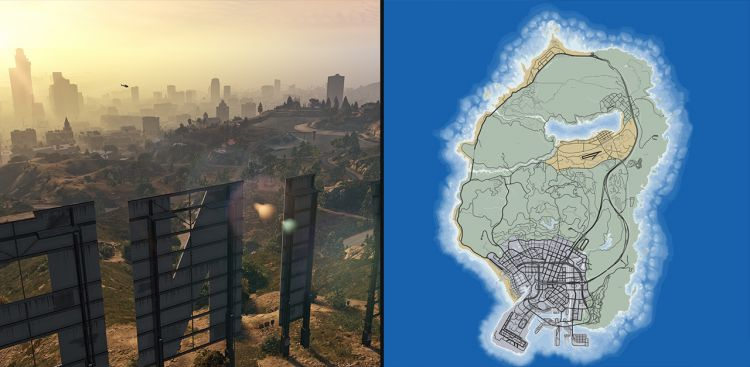 Do you know about the sizes of game maps? - TOP 10