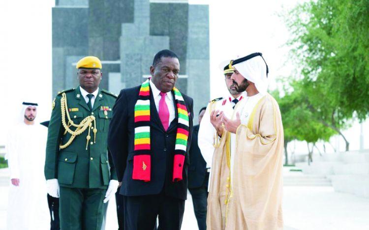 الإمارات تؤكد حرصها على تعزيز التعاون مع زيمبابوي