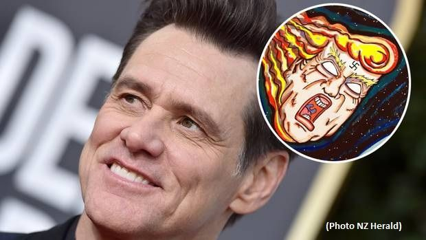 Jim Carrey blames Trump for NZ massacre while pledging support