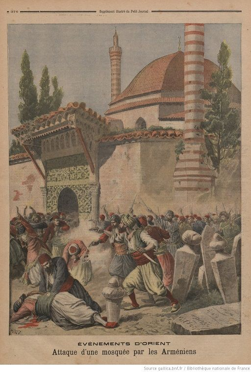 История геноцида турок армянами