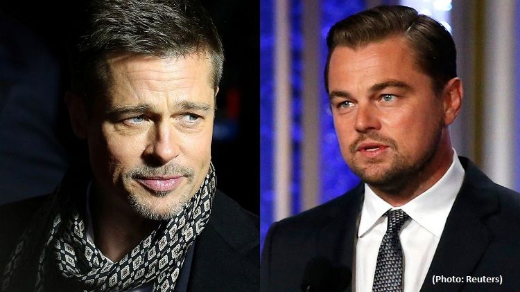 New Brad Pitt, Leonardo DiCaprio movie poster slammed by fans for 'looking Photoshopped'