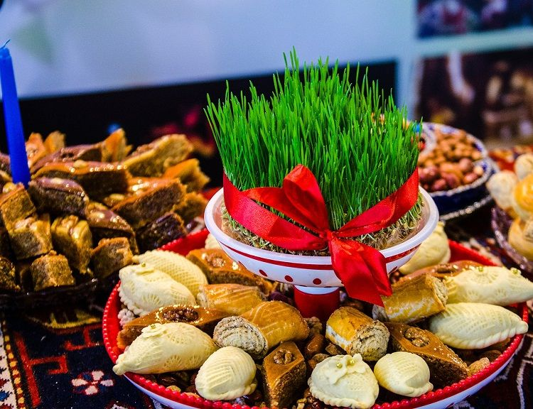 Azerbaijanis celebrating Novruz holiday