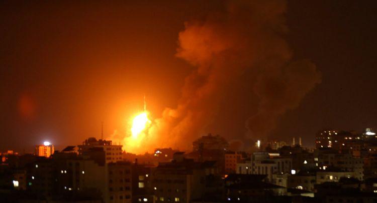 إسرائيل تستهدف موقعا عسكريا لحماس في غزة