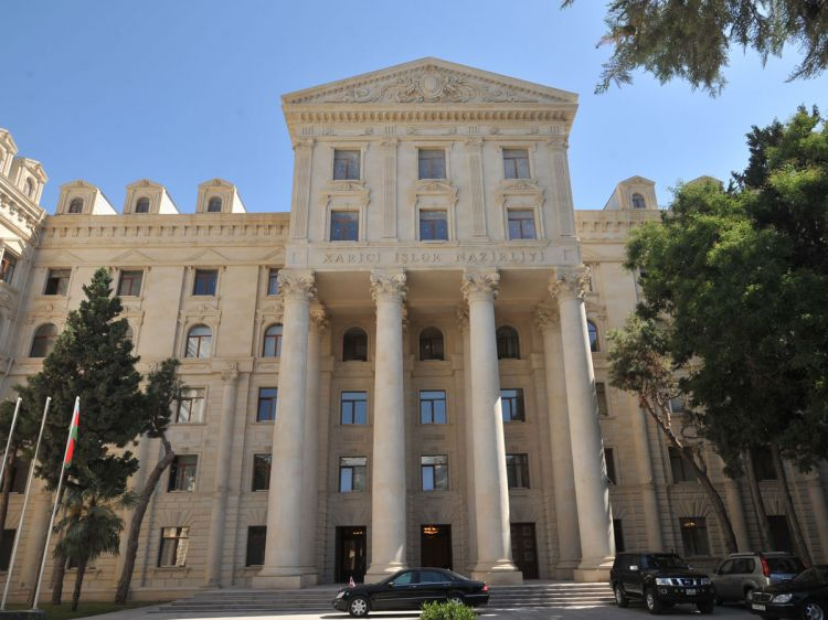 Azerbaijani MFA - Unequivocal position of world community, reflecting unchanged format of negotiation process, serves as serious message for Armenia